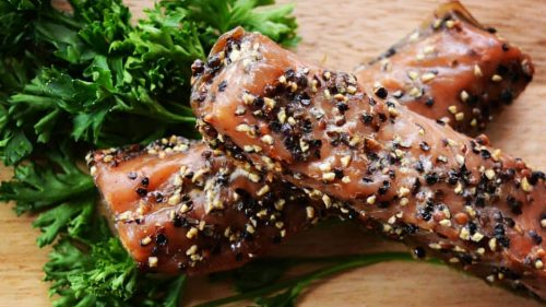 salmon candy