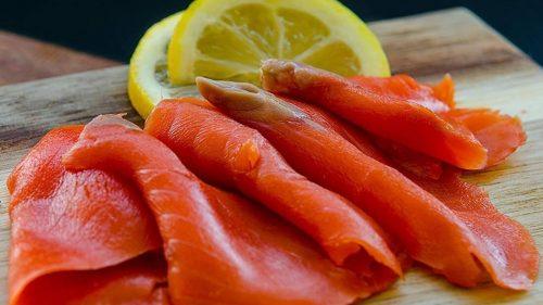 Wild Smoked Salmon Lox