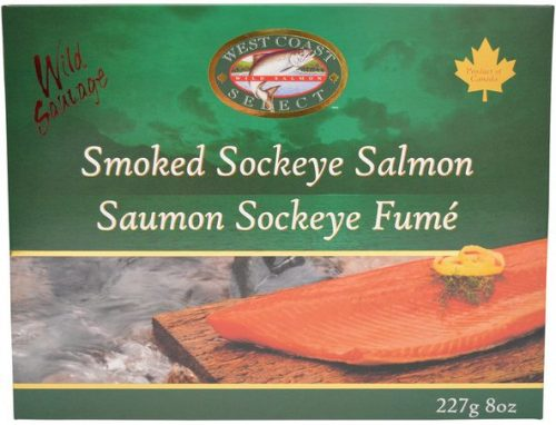 smoked Salmon gift box