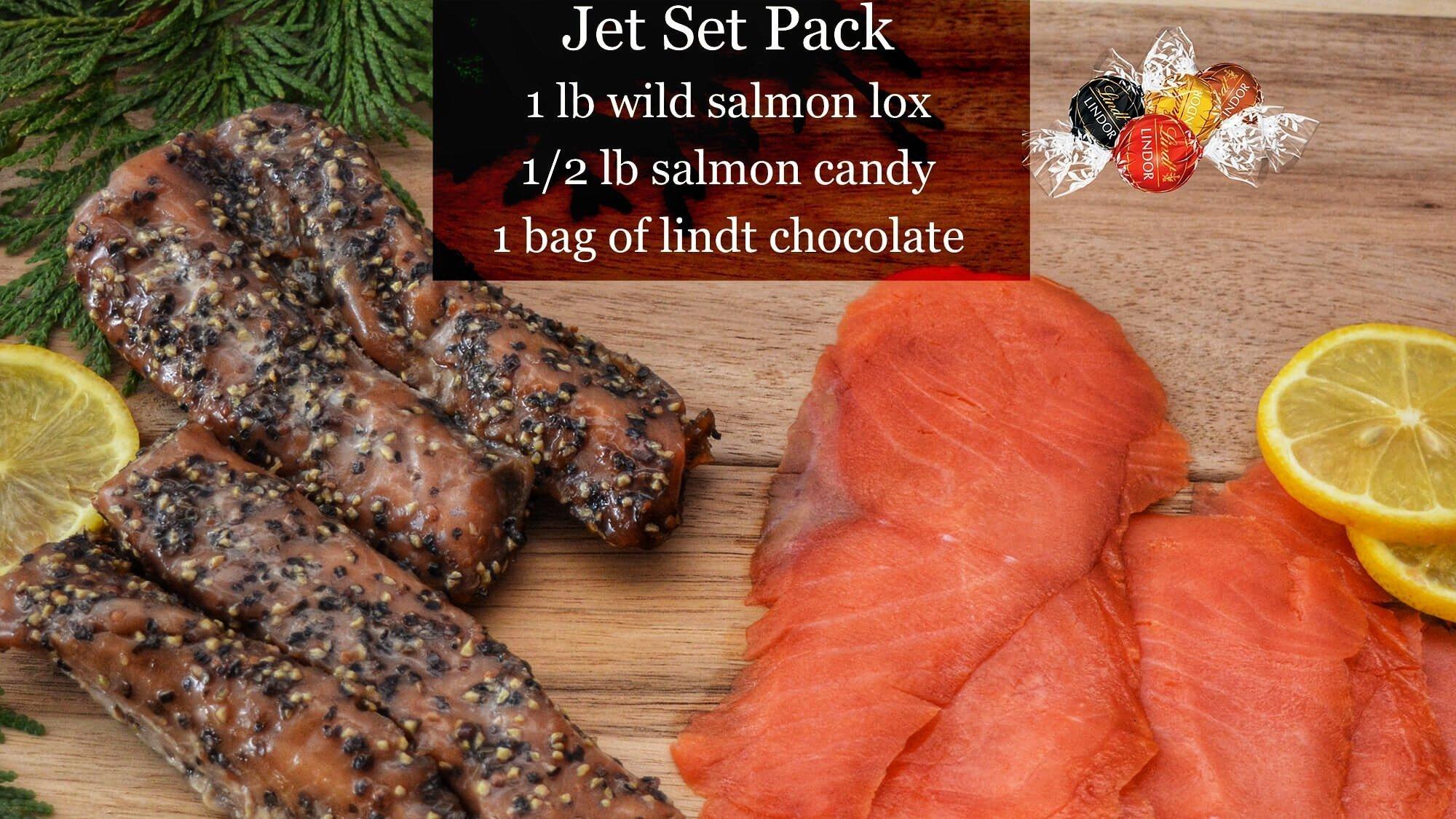 Jet Set Canadian Wild Smoked Salmon
