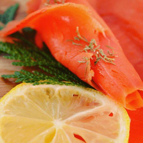 salmon lox