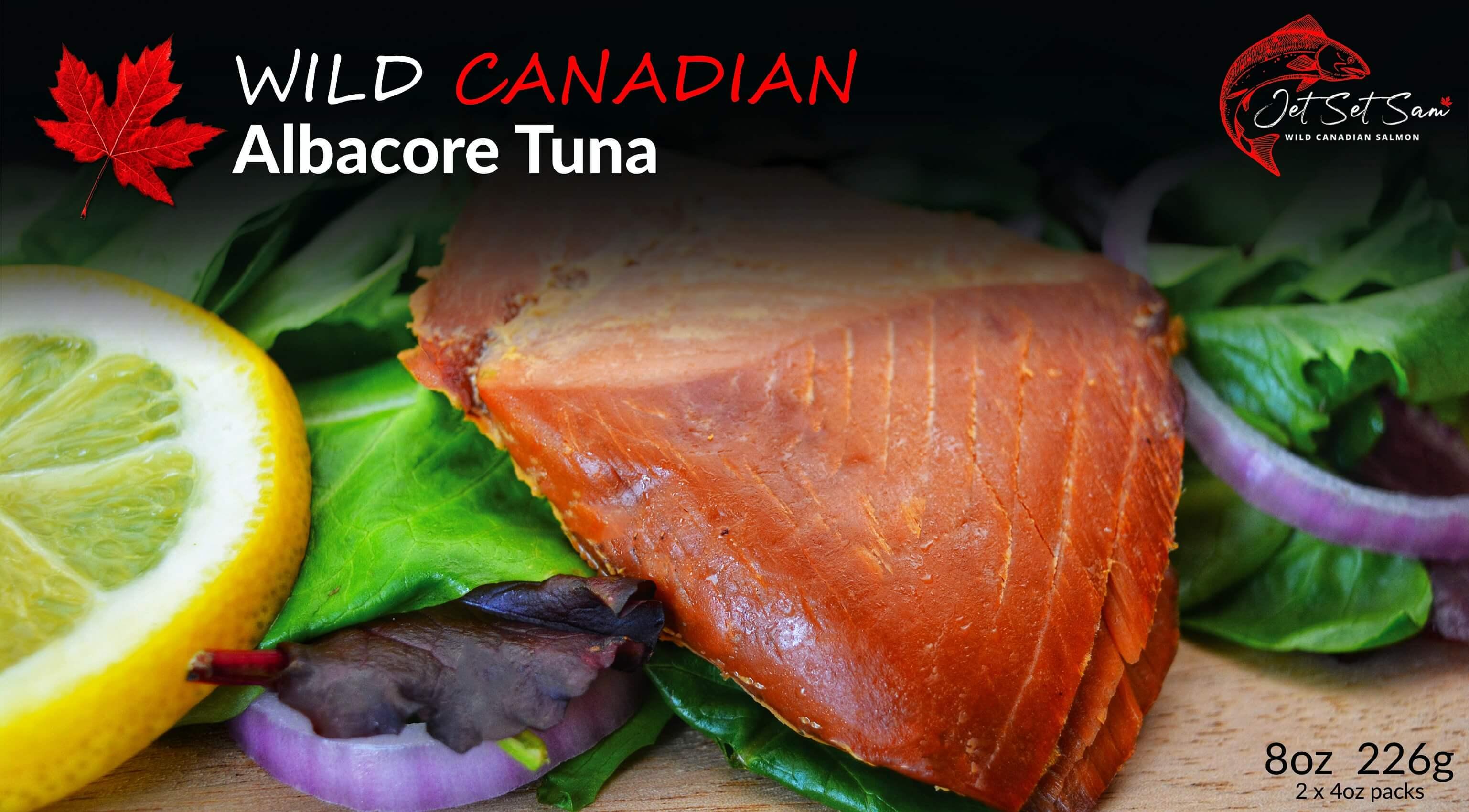 Wild Canadian Hot Smoked Albacore Tuna