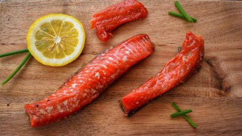 Salmon Strips